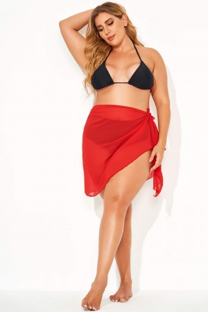 Elegant Women's Swimsuit Cover Up Sarong