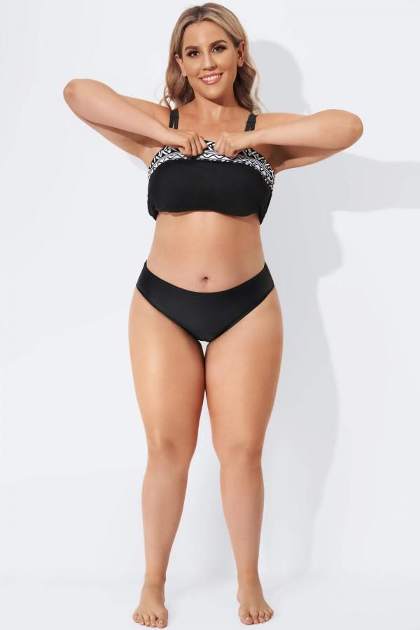 Black Beach Fashion Women Hipster Brief